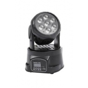 Testa Mobile Led Beam 7x12 watt