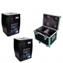 Kit 2 Sparkular MAXI 600w 5 mt + Flightcase
